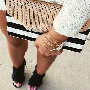 Gorgeous Stella & Dot crystal cuff bracelet